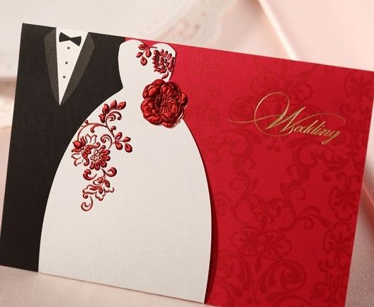Customized Wedding Invitations Creative High Quality Paper