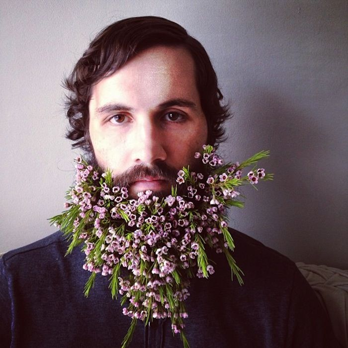 Because it's the weekend|Flower Beards.