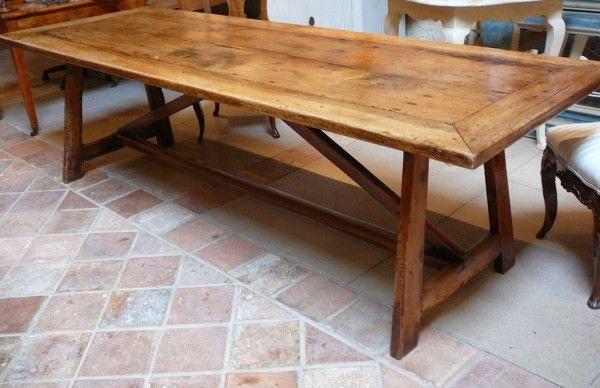 early 18th century basque farmhouse dining tablesold - Antique Farmhouse Kitchen Tables