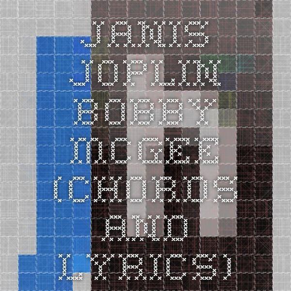 Janis Joplin Bobby Mcgee Chords And Lyrics Making Music
