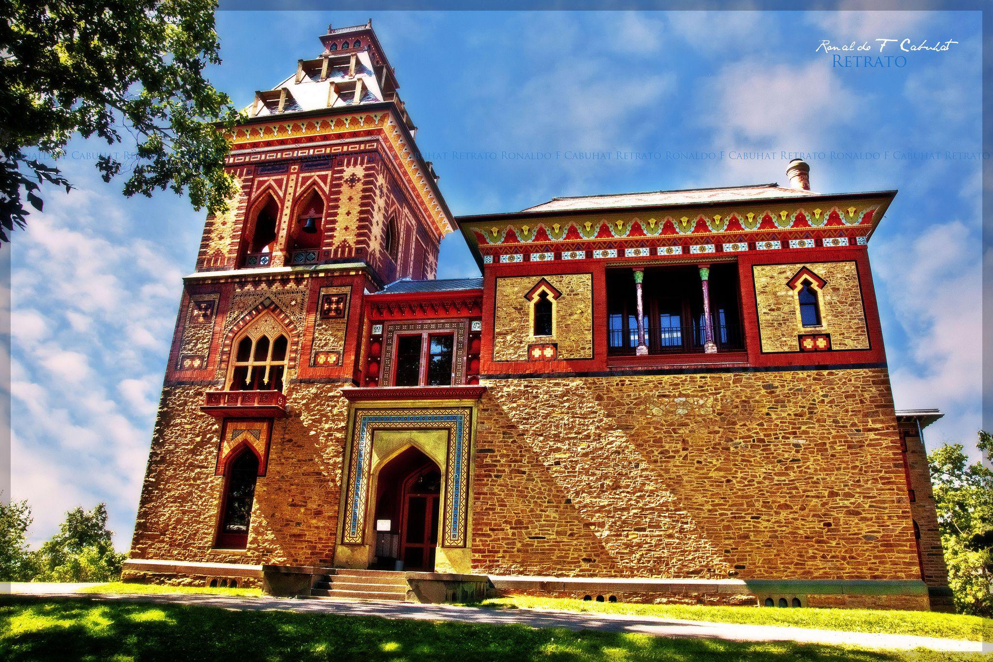 Frederic E Church House Olana Historic Homes Victorian Homes
