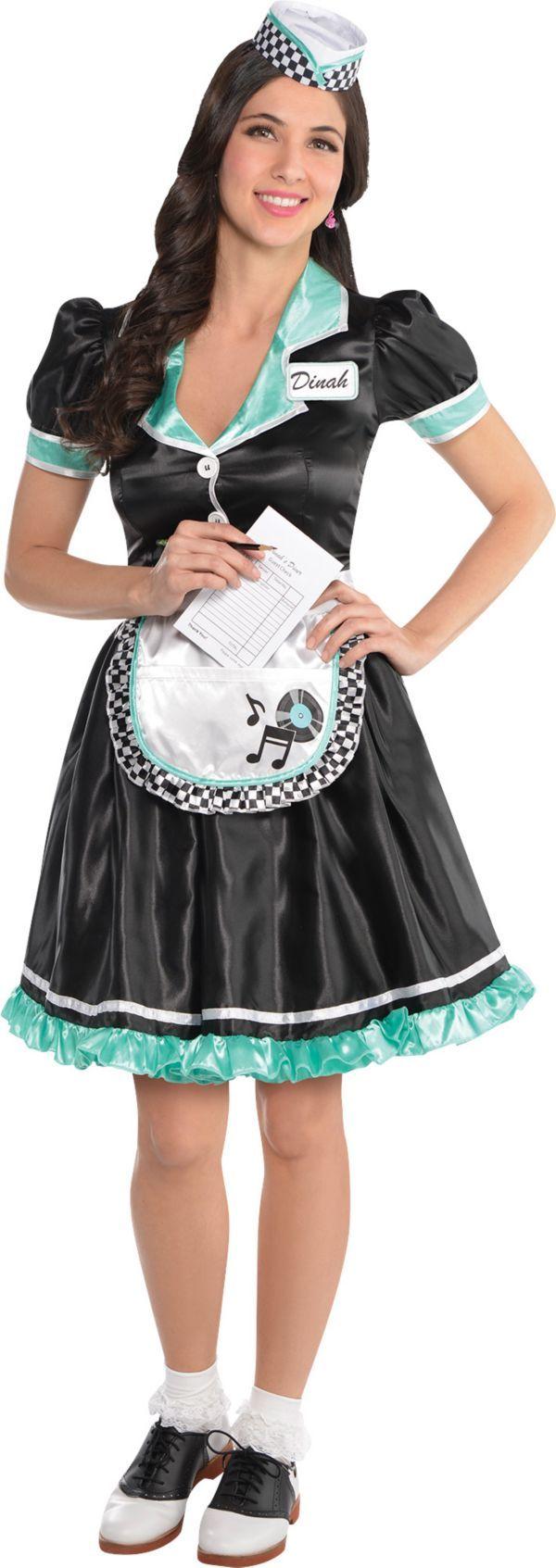 Adult Dinah Delight Waitress Costume $30  sc 1 st  Pinterest & Adult Dinah Delight Waitress Costume $30 | ????????? ...
