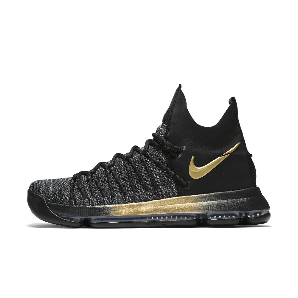 Nike Zoom KD 9 Elite Men's Basketball Shoe Size 11.5 (Black)