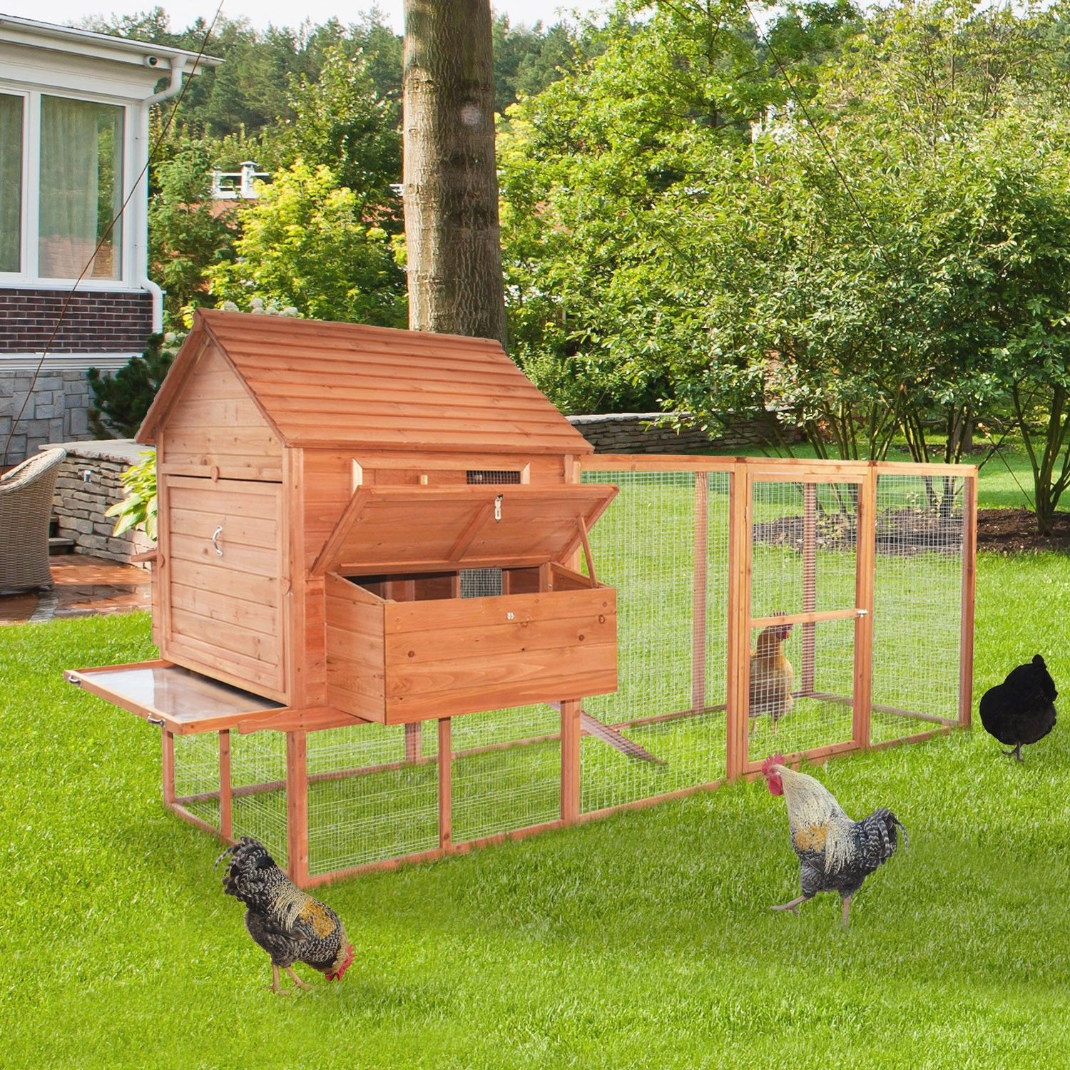 50 Easy Chicken Coop Designs You Can Try For Your Backyard Chickens Backyard Chicken Coop 7 Chickencoo Building A Chicken Coop Diy Chicken Coop Chicken Diy Backyard poultry house design