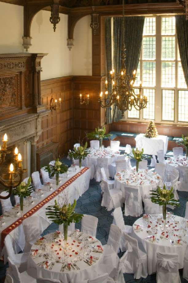 The Grand Hall At Rhinefield House Hotel Wedding Venue In New Forest