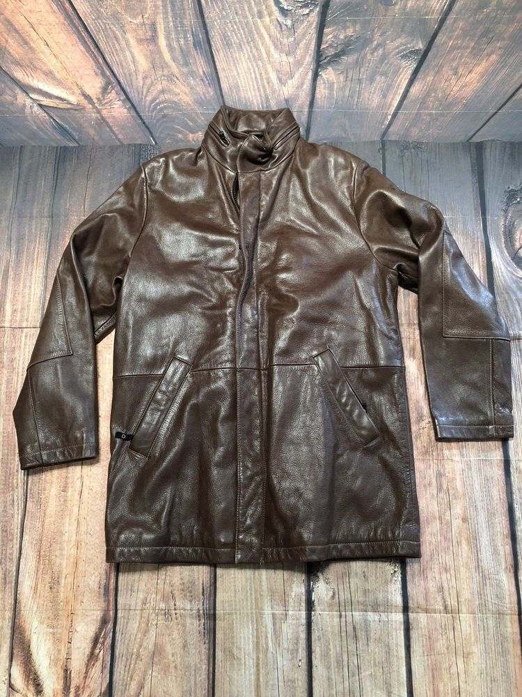 Men's Wilson's Brown Leather Thinsulate Lined Pelle Studio
