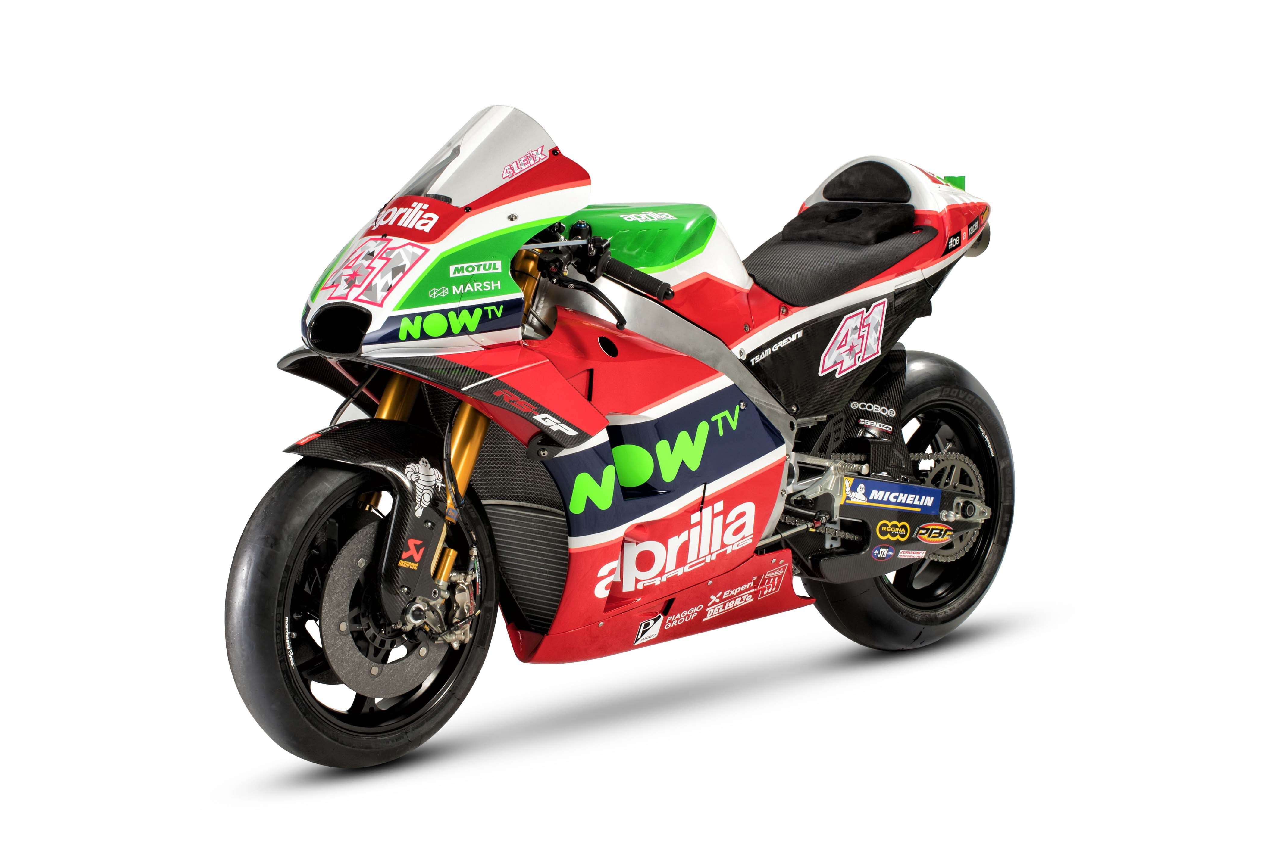 Actual 2018 Aprilia MotoGP bike not just livery  15ea8fcf2a1