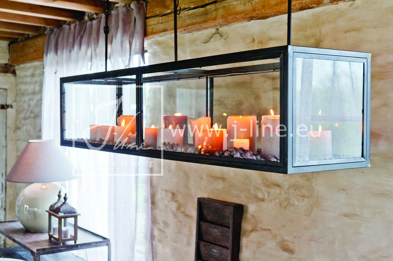 Kaarshouder Als Sfeervolle Verlichting J Line Thuisdecoratie Verlichting Interieur