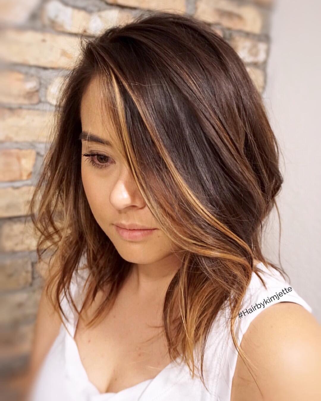 MILA'S NO Sunkissed brunette ☀️ #balayage #balayagespecialist #hairbykimjette…