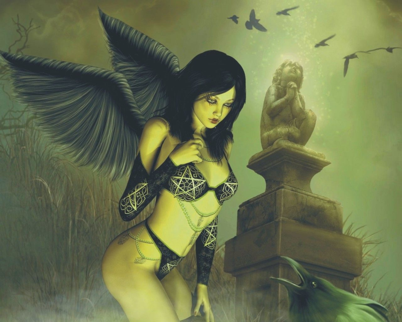 Satan Evil Angel Wallpaper From Angels Wallpapers Angel Wallpaper Evil Angel Angel
