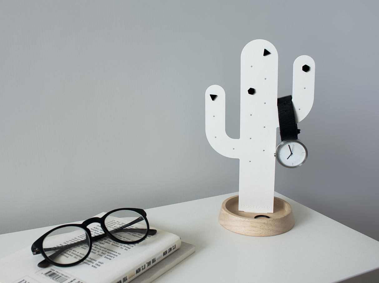 Cactus Jewelry tree by moreoverdesign moreoverdesign