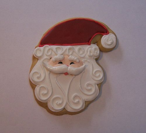 Santa Sugar Cookie