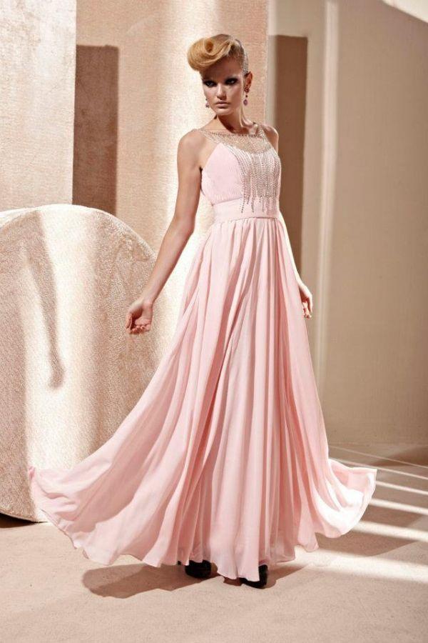 d9907e33e701 Code plesové šaty šité na míru růžové 1122 - plesové šaty