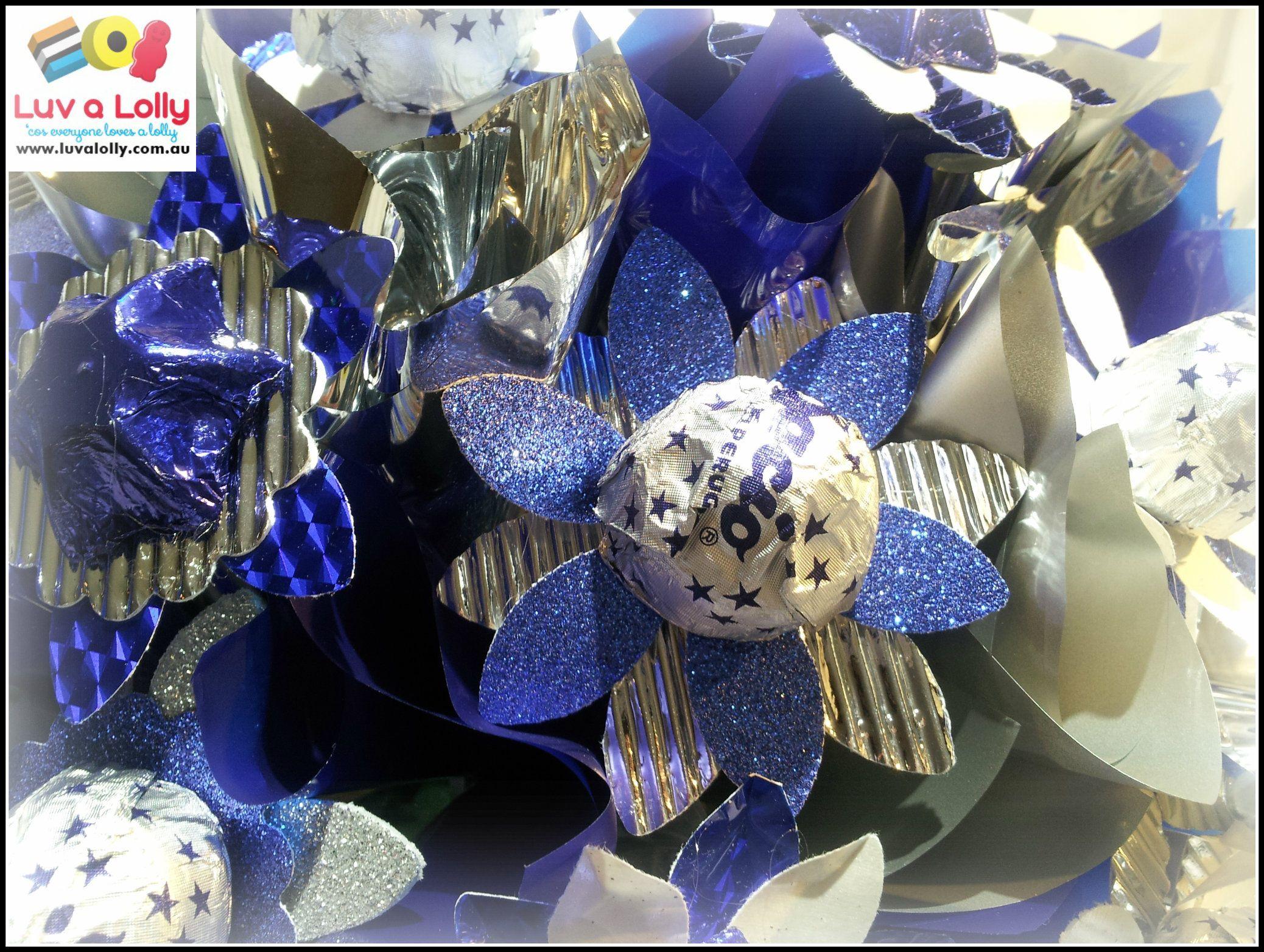 Baci Blue Flowers | Chocolate Bouquets | Pinterest | Chocolate ...