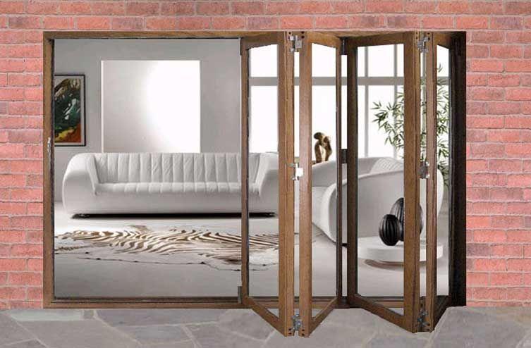 Sliding Glass French Doors Johnson Door Oak Folding Sliding Patio Door Set