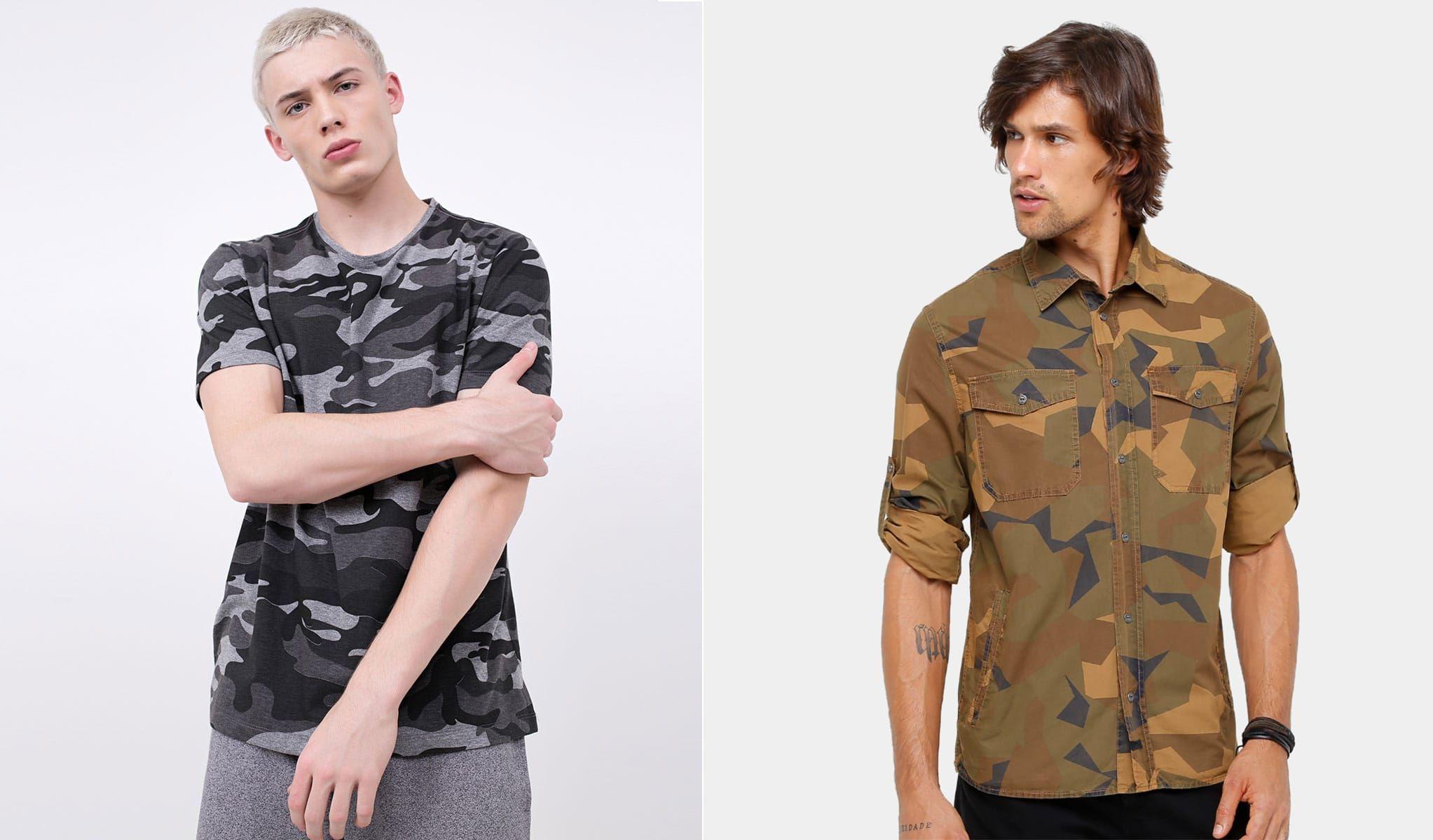 e493841f80 onde comprar estampa camuflada masculina ou estampa militar homens que se  cuidam por juan alves capa