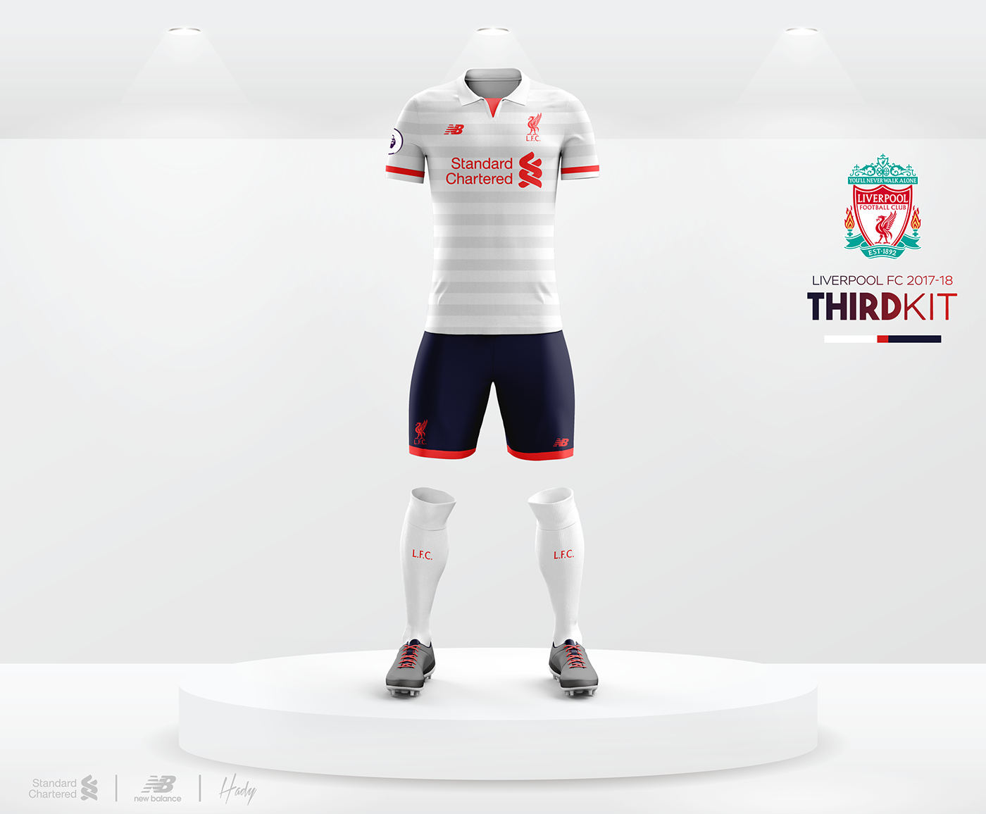 7e87a3559 Liverpool Football Club 2017-18 Kits Concept.