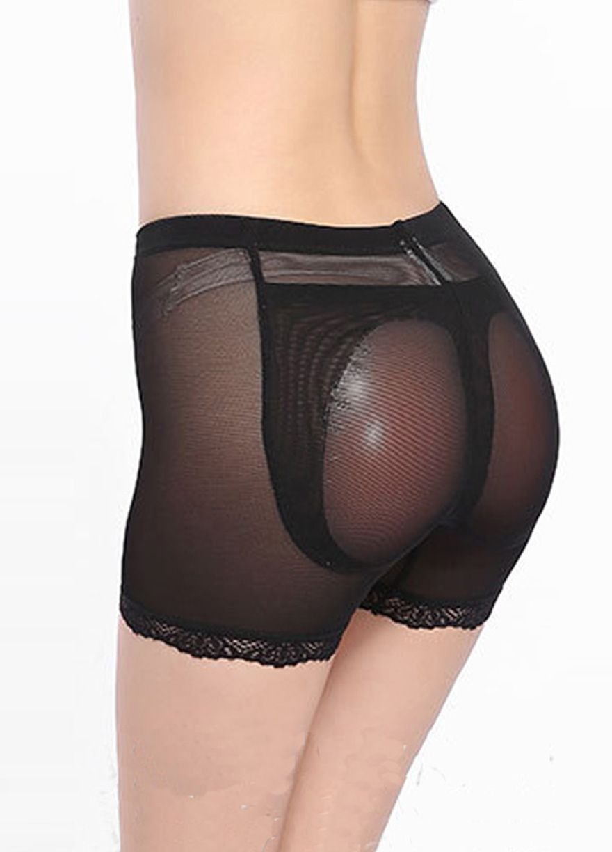 b1a85496d5 ... Underwear Shapewear. High Waist Silicone Buttocks Padded Panties Butt  lift Shaper Shapewear Sexy Lingeire