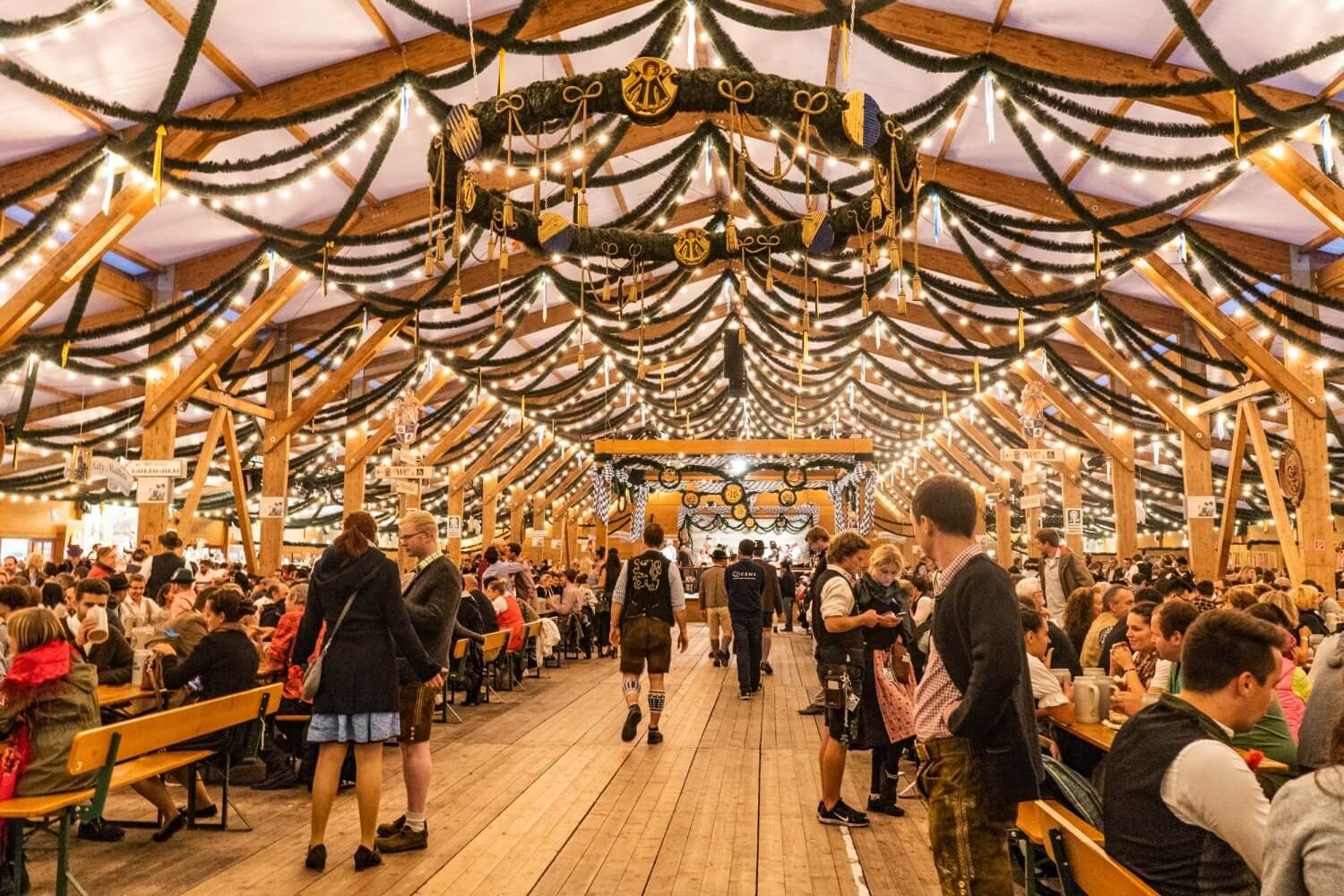 How To Get Into A Beer Tent At Oktoberfest
