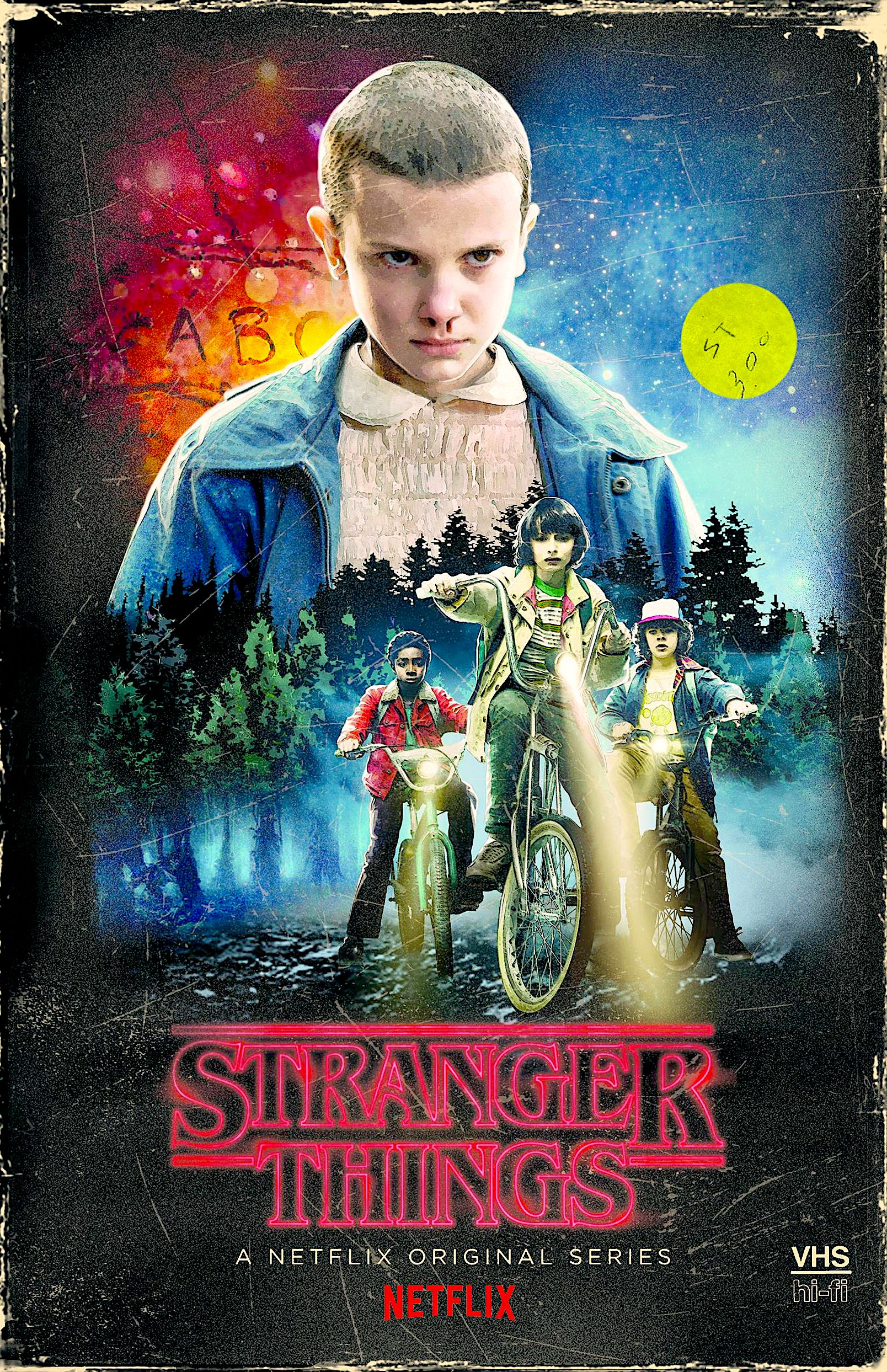 STRANGER THINGS SEASON ONE TARGET EXCLUSIVE BLURAY / DVD
