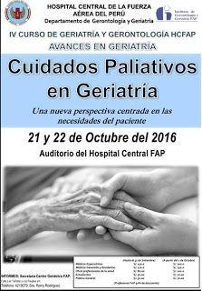 La Visión Gerontològica Curso Cuidados Paliativos En Geriatria