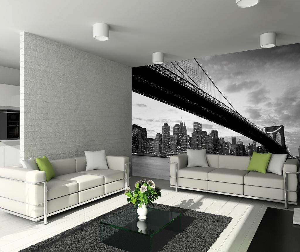 Tapet perete brooklyn bridge skyline vivre home deco