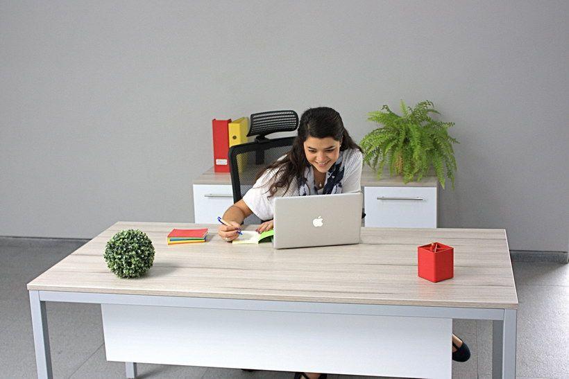 Escritorios de oficina - Línea Allen - Muebles para oficina - Poliarte