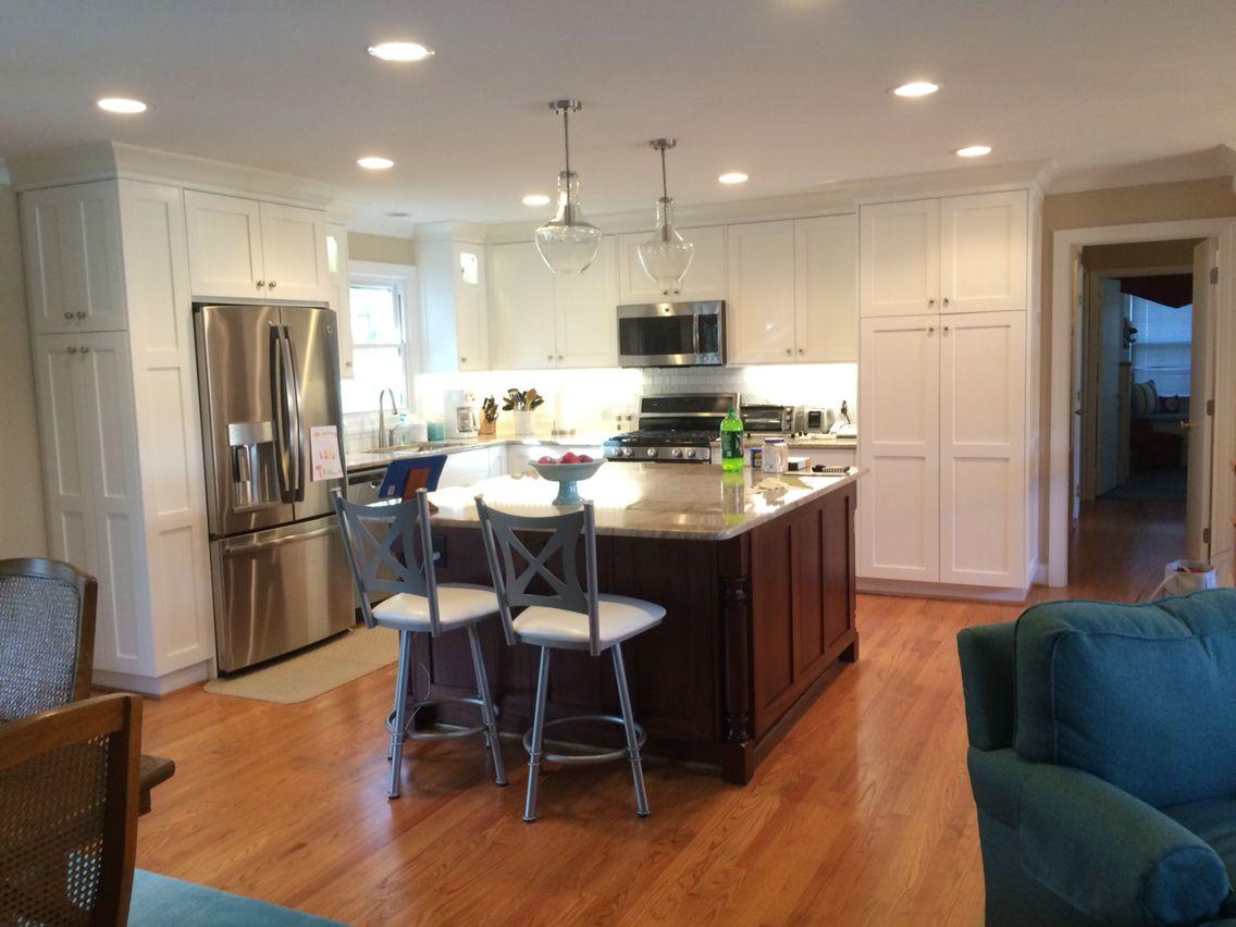 remodeled split foyer kitchen removed walls for open concept 2016 kitchen remodel on i kitchen remodel id=53783