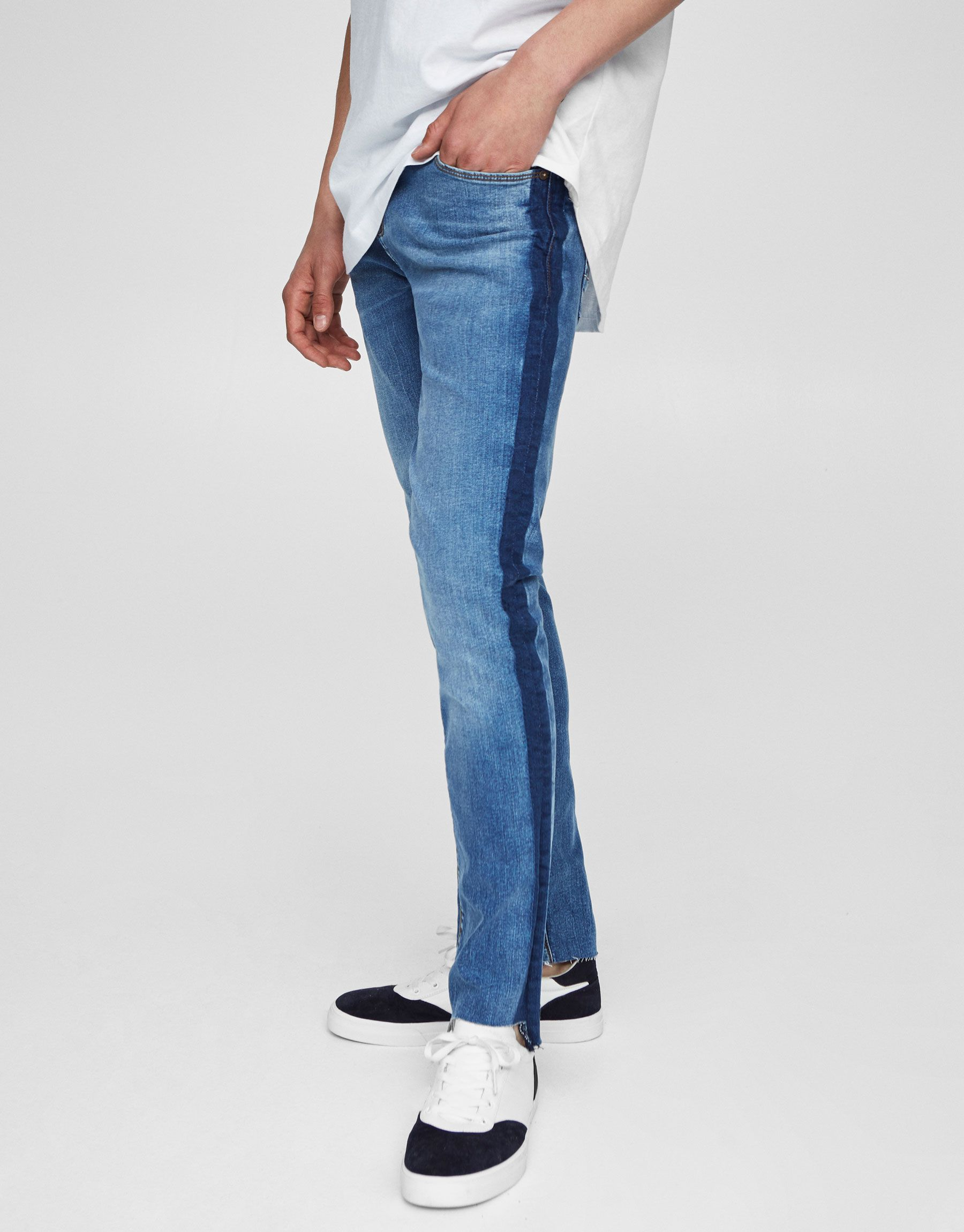 Jeans skinny fit delavado - Jeans - Ropa - Ropa - Hombre - PULL BEAR España 2bc2f4419f22
