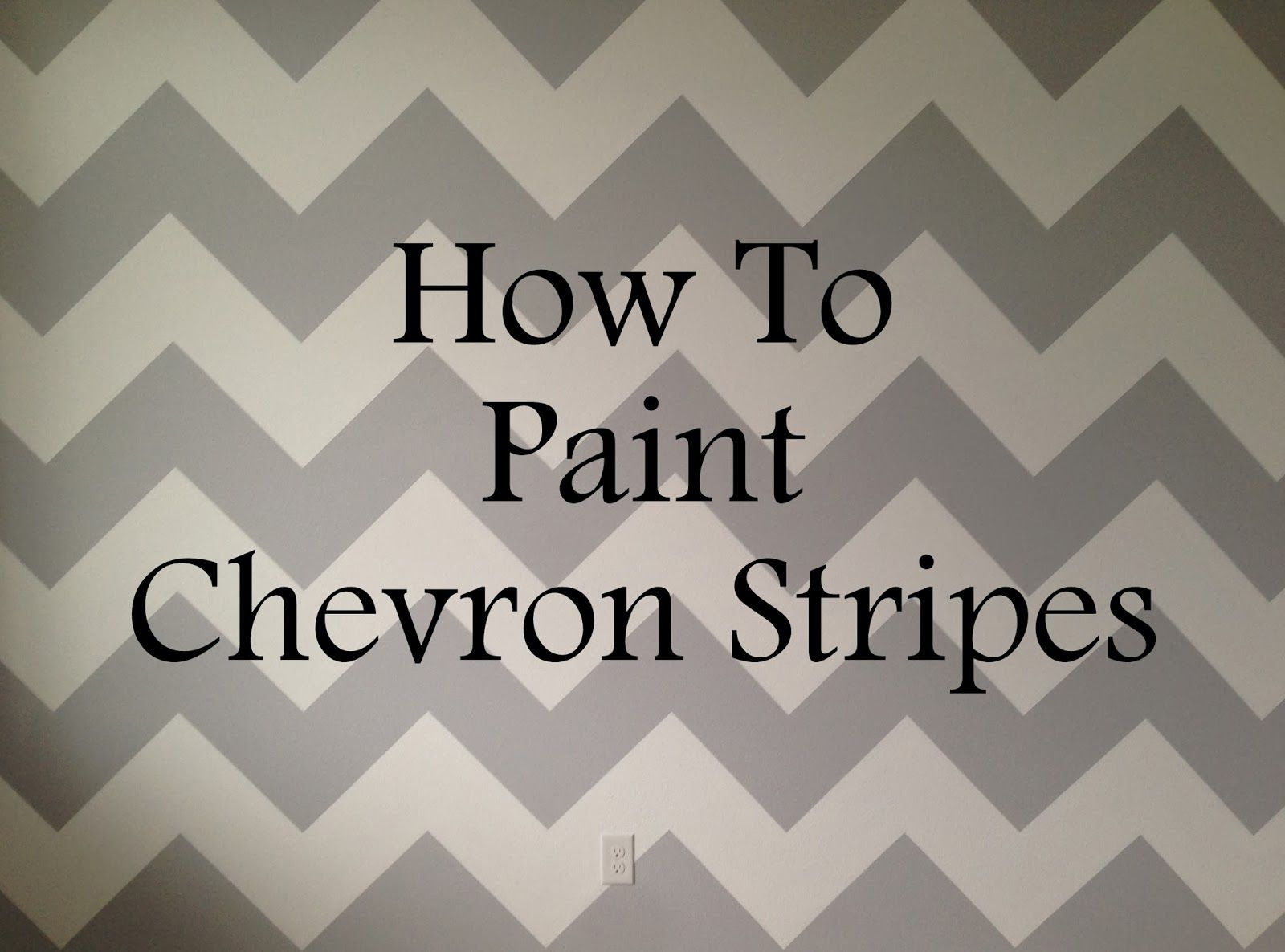 Life As Always Live Learn How To Paint Chevron Stripes How