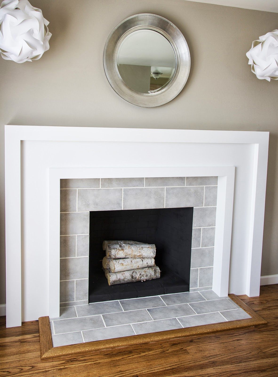 Swingncocoa Fireplace Makeover Part Deliciously Done Remodel Home