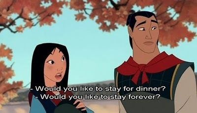 the granny in Mulan is the best!