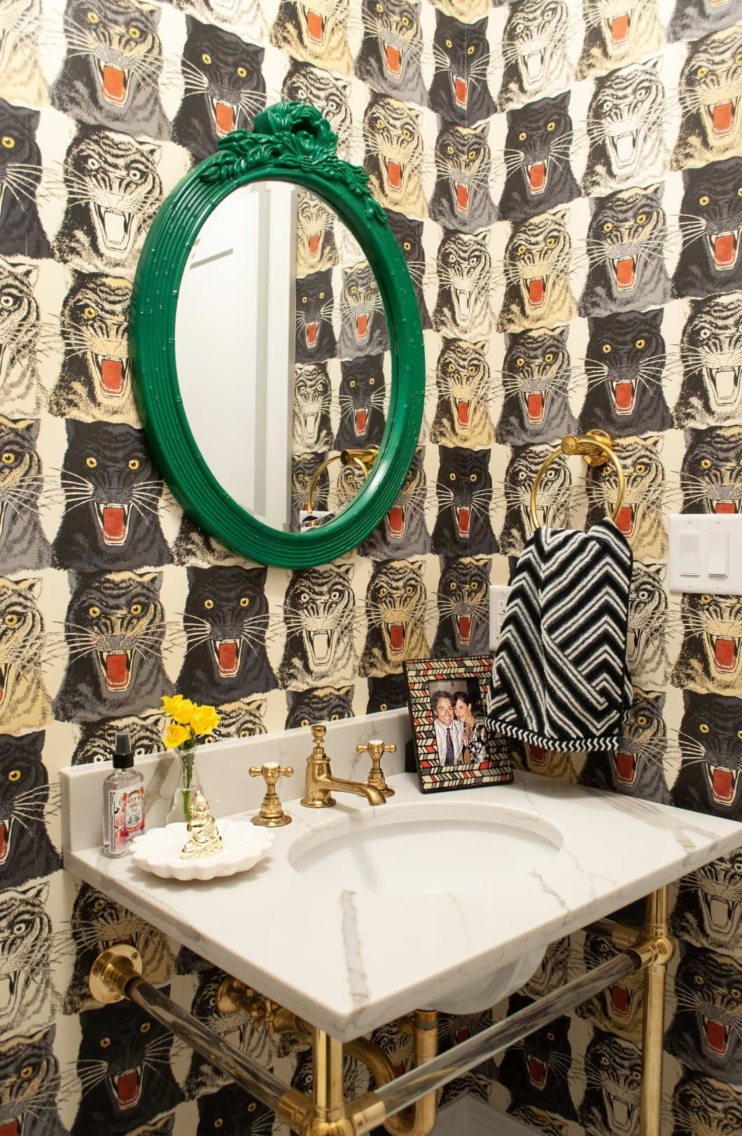 19 of the Most Gorgeous Half Bath Ideas We've Ever Seen | Bold decor,  Rustic bathroom decor, Decor inspiration