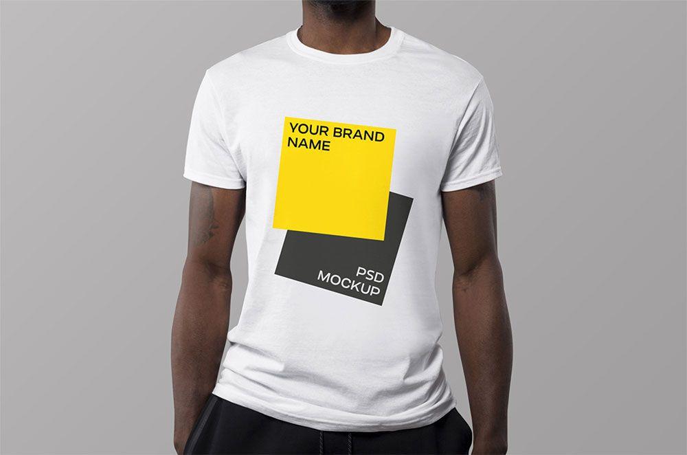 Download Free Photo Realistic T Shirt Mockup Tshirt Mockup Shirt Mockup Tshirt Mockup Free