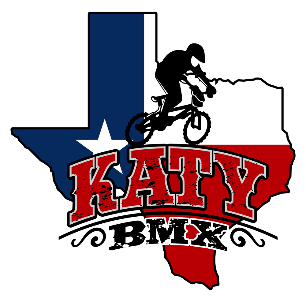 katy bmx sports logo design patriotic feel to this design sports