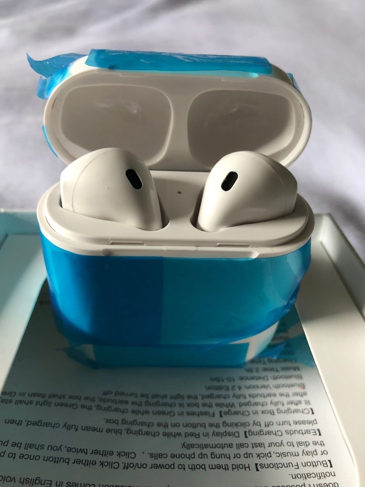 4589d32e5f4 China Wholesale Apple airpods Replica 1:1 clone version Apple airpods,it  has all the features of original one,We aim to show you accurate product ...