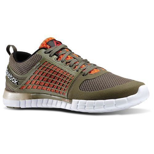 Reebok - Reebok Zquick Electrify Modern Olive / Black / Flux Orange / White  M43718 -