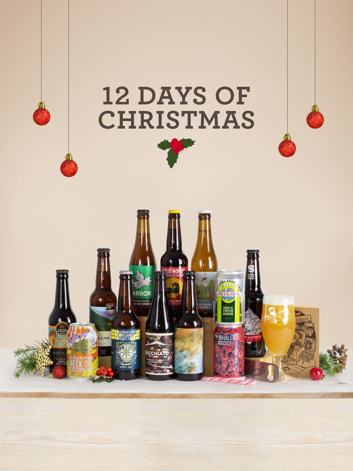 Mixed Styles 12 Beer Mixed Case Beer Christmas Gifts Christmas Beer Craft Beer Gifts
