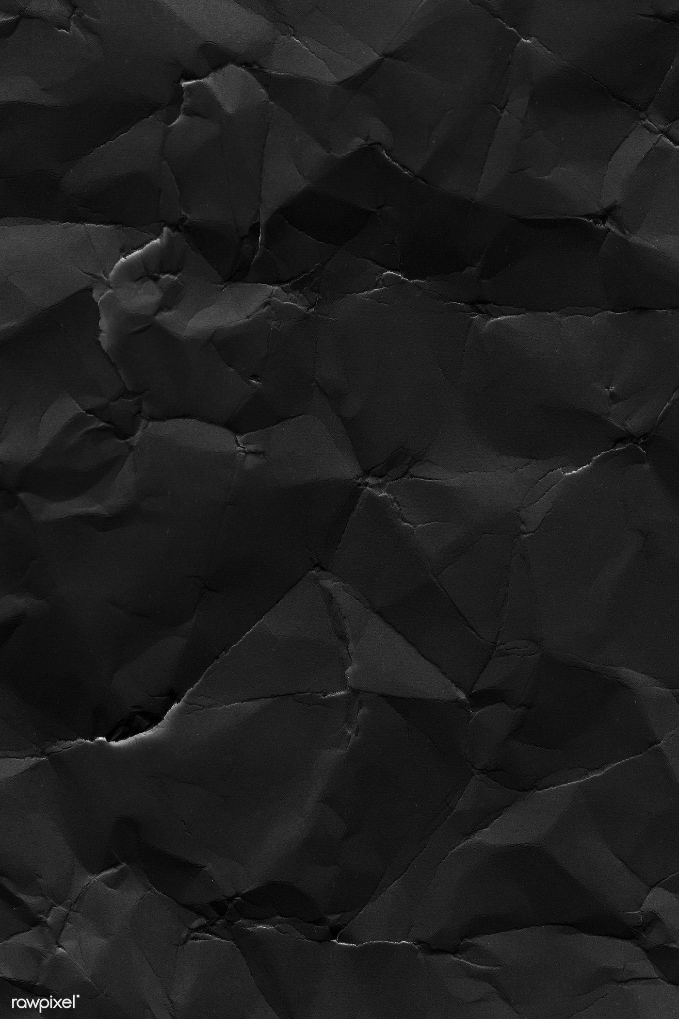 Crumpled Black Paper Textured Background Free Image By Rawpixel Com Marinemynt Black Paper Texture Texture Graphic Design Photo Texture