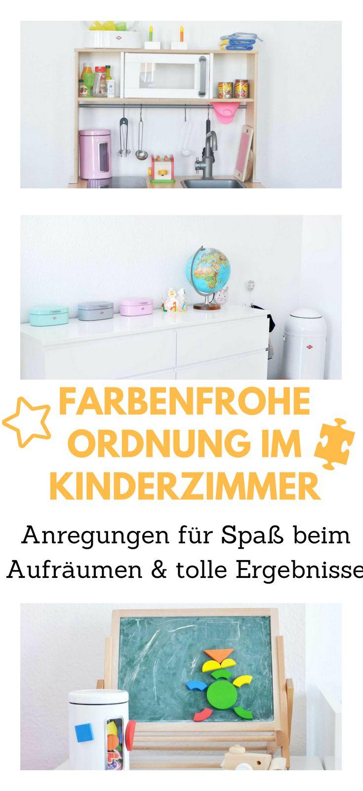 Farbenfroh Ordnung schaffen im Kinderzimmer - Aufgeräumt durchs ...
