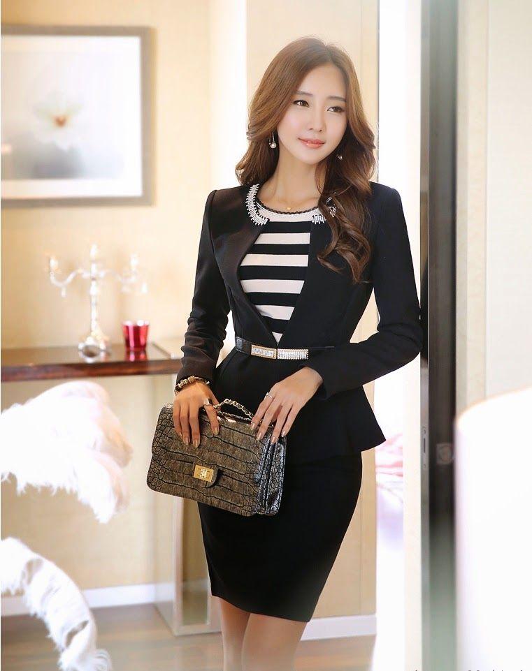 0ccf7c2f67 Modelos de ropa de vestir para oficina  modelos  modelosdevestir  oficina   vestir