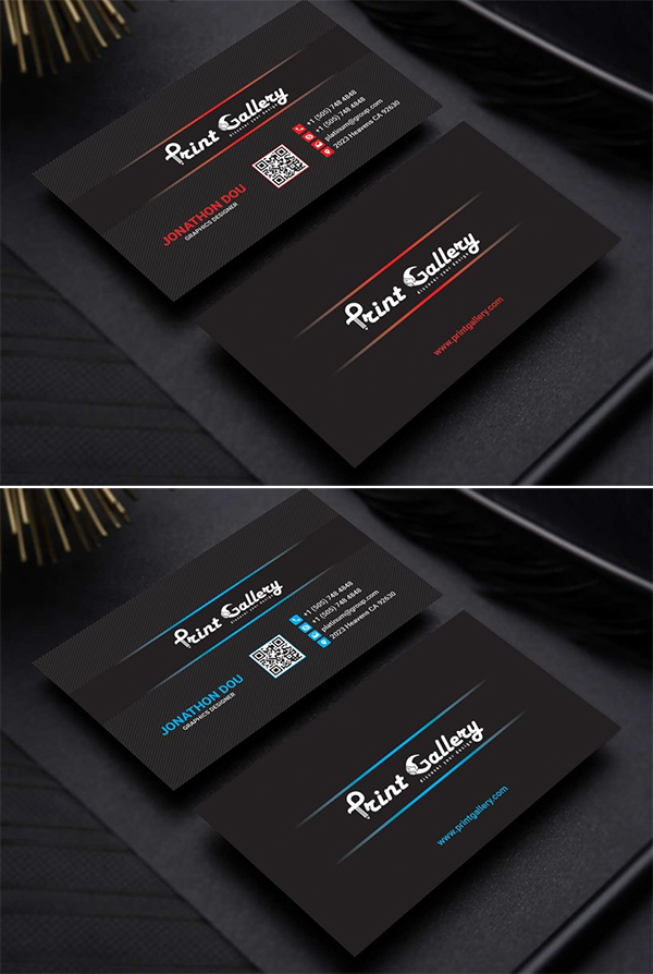 Minimal Individual Business Card Business Cards Online Luxury Business Cards Business Cards Creative