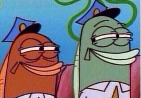 "You and your best friend when the teacher says ""Get in a group"""