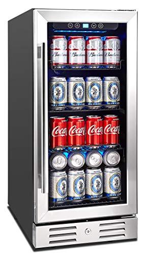The 25 Best Under Counter Beverage Centers Of 2020 Family Living Today In 2020 Beverage Fridge Beverage Cooler Interior Lighting