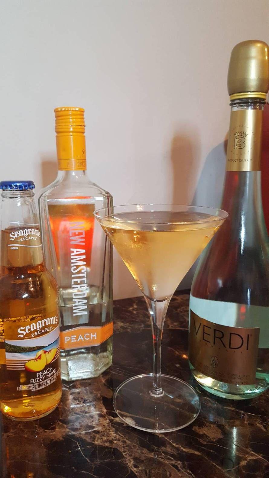 Satin Peach A Smooth Refreshing Cocktail Peach Drinks