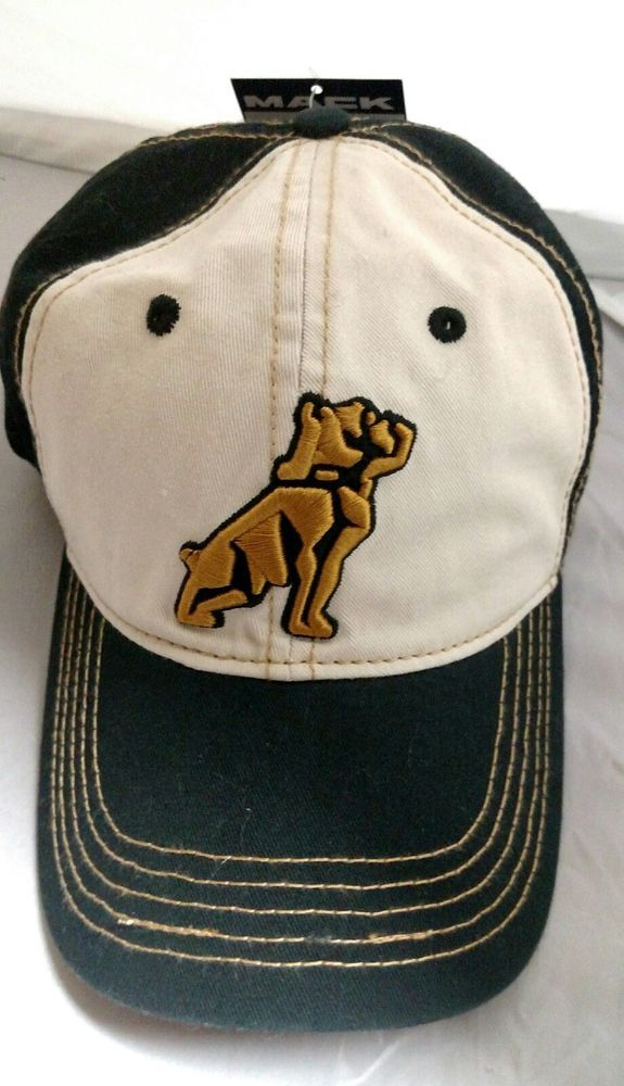 e161bef32 Embroidered logo Mack Truck Hat Cap Retro Styling Adjustable-NWT ...