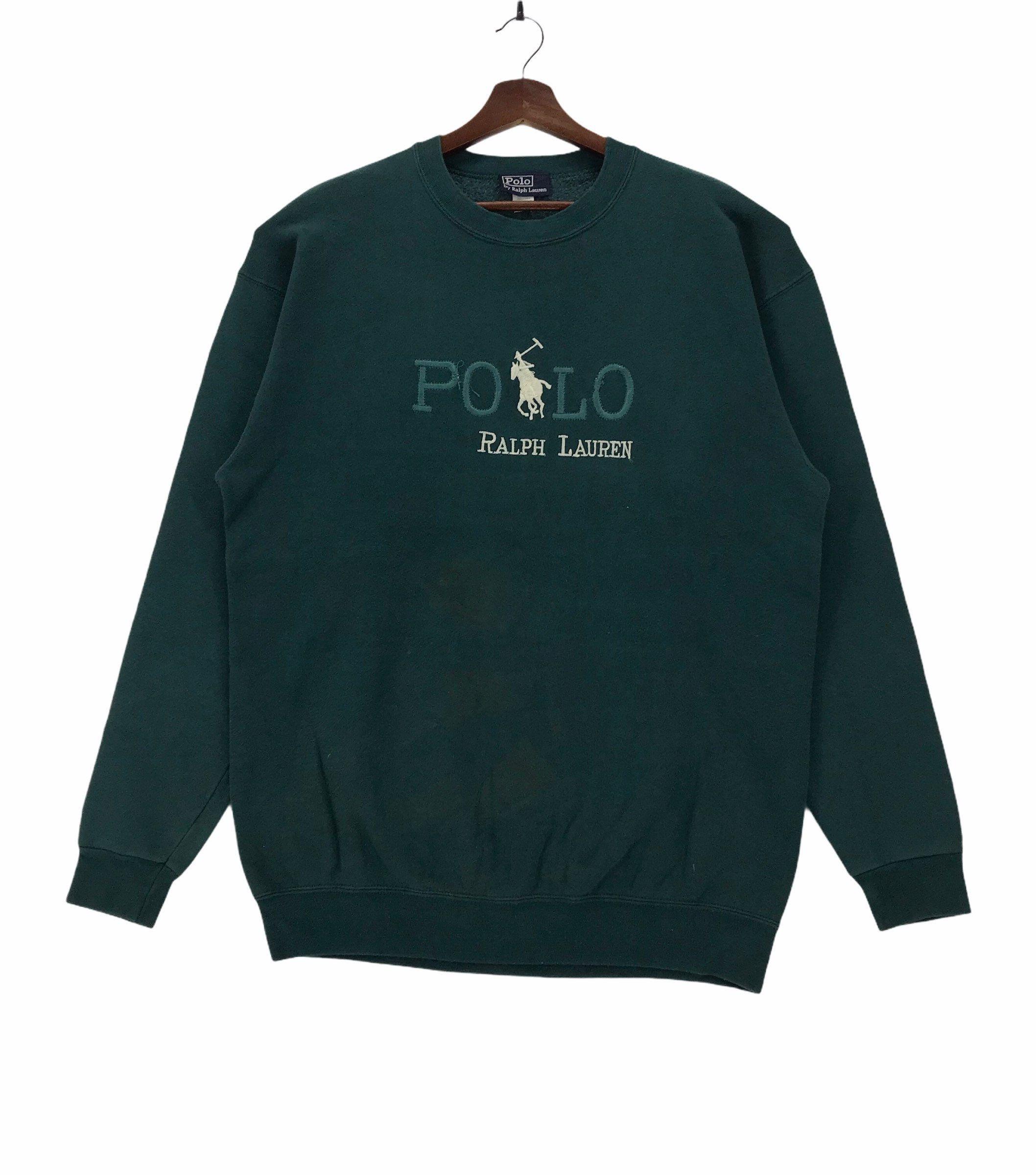 Vintage Polo Ralph Lauren Crewneck Sweatshirt Embroidery Etsy In 2021 Vintage Sweatshirt Polo Ralph Lauren Crewneck Sweatshirt Outfit [ 2400 x 2116 Pixel ]