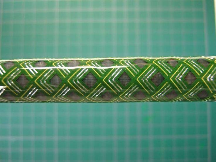Deco Rod Wrap Axes Chevron Fishing Rod Building Photo