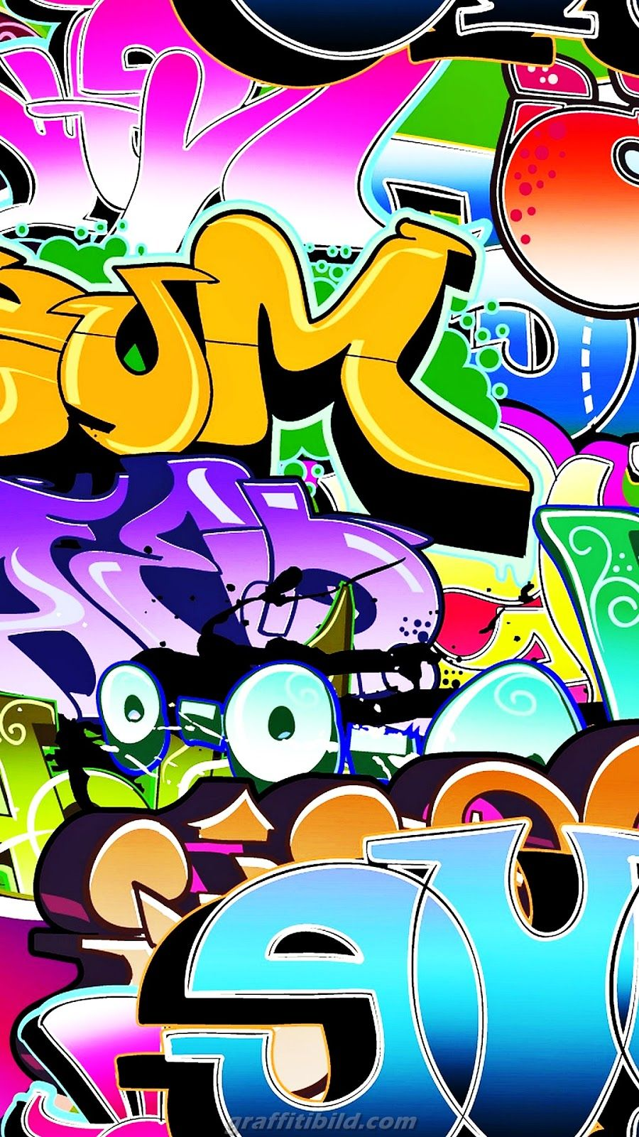 Graffiti wallpaper for android phone hd Graffiti
