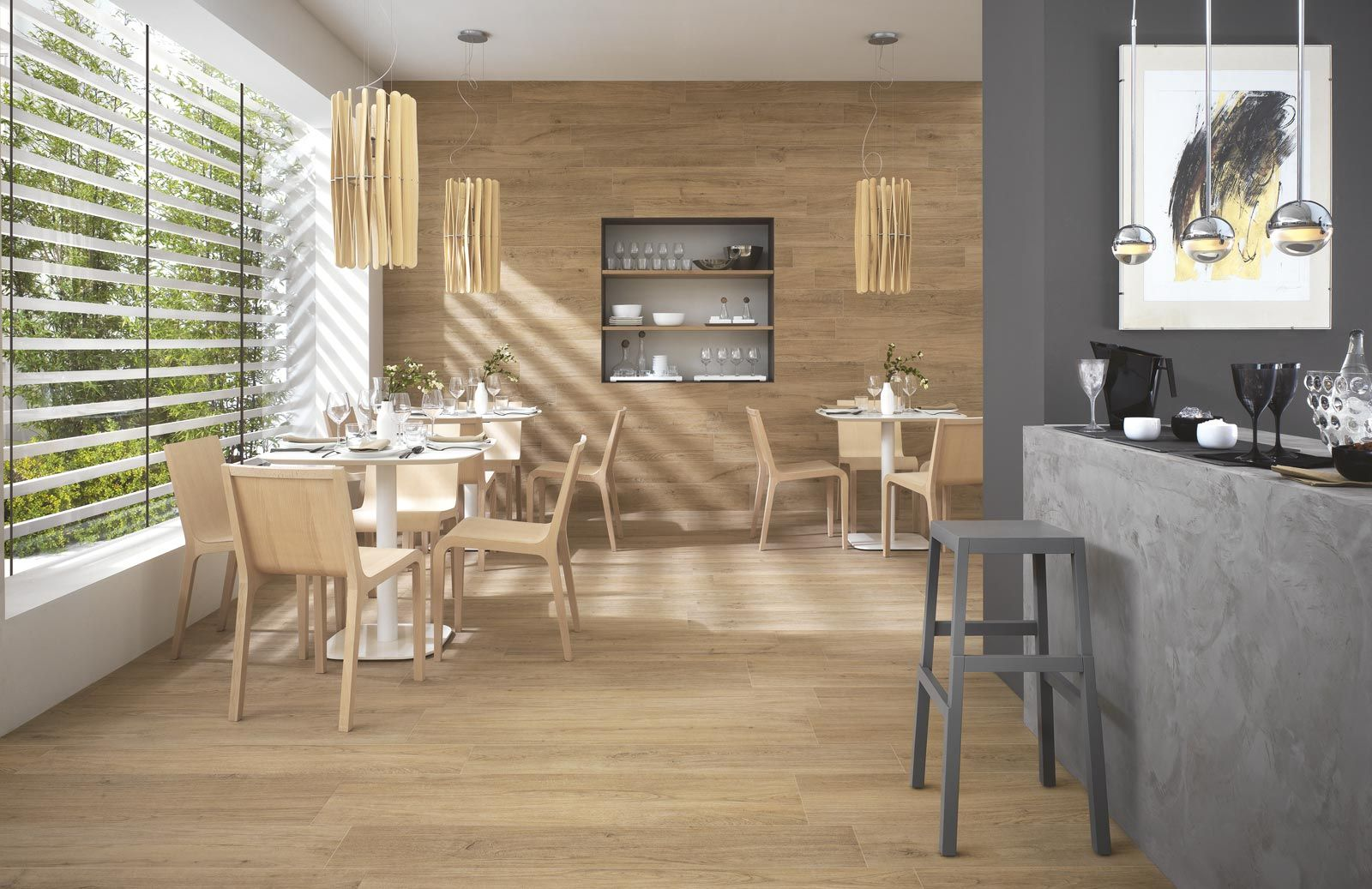 #Ragno #Woodliving Rovere Biondo 15x120 cm R40L | #Porcelain stoneware #Wood #15x120 | on #bathroom39.com at 47 Euro/sqm | #tiles #ceramic #floor #bathroom #kitchen #outdoor